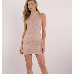 Loving You Lace Bodycon Dress/ Size: S Color: Rose
